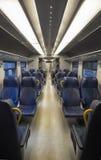 View of empty train Stock Photo