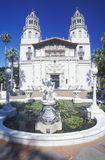 View of the Enchanted hill, Hearst Castle, San Simeon, CA Stock Images