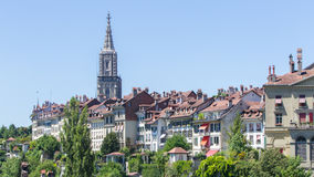 View on the enchanting old town of Bern, Switzerland Royalty Free Stock Images