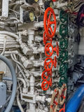 View of the engine room of the ship Royalty Free Stock Photography