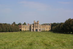 View of english country house Stock Photos