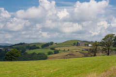 A View Of English Fields Stock Image