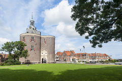View on Enkhuizen, Netherlands Stock Images