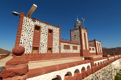 View of Entallada Lighthouse, Fuerteventura, Spain Royalty Free Stock Photos