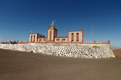 View of Entallada Lighthouse, Fuerteventura, Spain Stock Photography