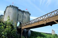Castle of lavardin France stock image