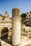 The View Of The Ephesus Ancient City. View Of The Ephesus Ancient City Stock Photo