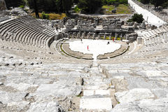 View Of Ephesus Ancient City Amphitheatre Stock Photos