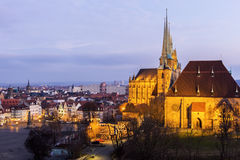 View on Erfurt in Germany Royalty Free Stock Photography