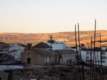 Ermita de las Angustias-Alhama de Granada. View of Ermita de las Angustias Royalty Free Stock Images