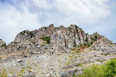 Free View Eroded Rocks Of Demerdzhi Mountain From Park Royalty Free Stock Image - 101013036
