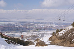 View of Erzurum. Turkey Royalty Free Stock Images