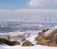 View on Erzurum. Turkey Stock Image