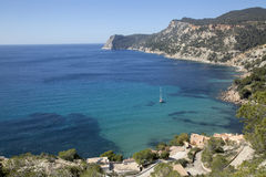 View from Es Cubells; Ibiza Stock Image