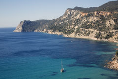 View from Es Cubells; Ibiza Royalty Free Stock Photography