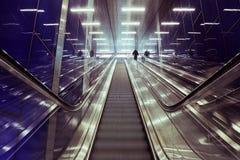 View of Escalator Stock Photos