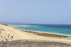 View of Esmeralda beach in Fuerteventura, Canary Islands, Spain. View of Esmeralda beach in Fuerteventura, Canary Islands, Spain stock image