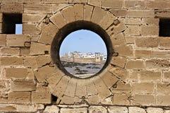 View of Essaouira port Royalty Free Stock Photos