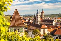 Esslingen am Neckar, Germany, scenic view of the medieval town center Stock Photo