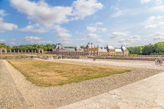 View of the estate of Vaux-le-Vicomte, France Royalty Free Stock Photography