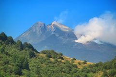 View on Etna Stock Photography