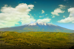 View on Etna Royalty Free Stock Photos