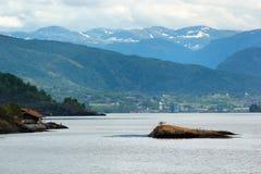 View of Etnefjorden near Etne in Hordaland county, Norway. View of Etnefjorden near Etne in Hordaland county, Norway stock images