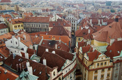 View on a European old city royalty free stock photo