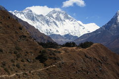 View of Everest Stock Photo