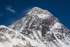 View of the Everest from Kala Patthar Royalty Free Stock Image