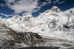 View of the Everest from Kala Patthar Royalty Free Stock Images