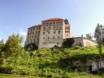 Pieskowa Skala Castle in Lesser Poland. Royalty Free Stock Image