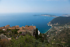 View from Eze Royalty Free Stock Photo