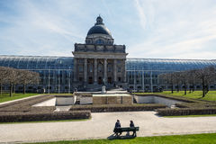 View of the facade of the Chancellery of the State of Bavaria Bayerische Staatskanzlei Stock Photography