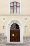 View of the Facade of a Church Royalty Free Stock Images