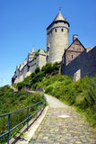 View of the facade fairytale castle Altena Royalty Free Stock Image