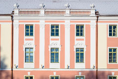 View of the facade parliament building in Tallinn Stock Photo