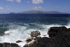 The view of Faial Stock Photography