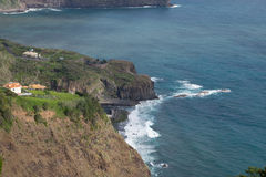 View on Faial Royalty Free Stock Images