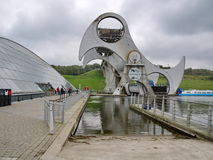 View of the Falkirk Wheel Stock Photo