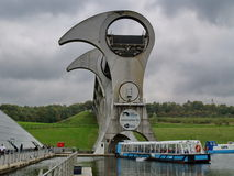 View of the Falkirk Wheel Stock Image