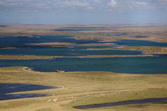 View of the Falkland Islands Stock Photography
