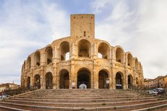 Arles, France stock images