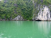 View Of Famous Halong Bay Stock Photo