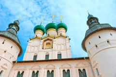 View of famous Kremlin in Rostov Stock Images
