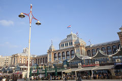 View at famous Kurhaus at Scheveningen Stock Photos