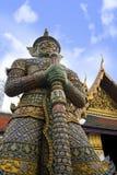 View of famous religion temple wat phra prakaew grand palace in Bangkok Thailand Stock Photos