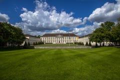 View of famous Schloss Bellevue in Berlin stock images