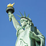 View of famous Statue of Liberty Stock Image