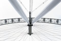 A view of London Eye in London Stock Photography